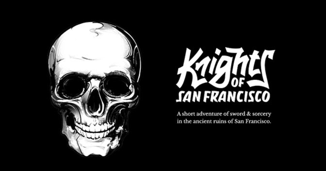 Skyrim-like Text Adventure Knights of San Francisco Comes to Mobile