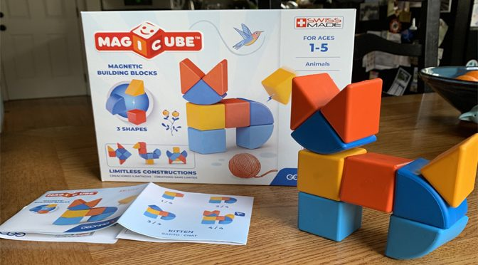 Blocky Magicube Toy Inspires Young Builders