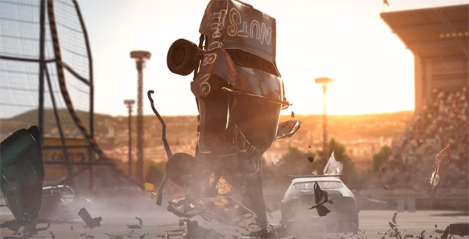 Wreckfest Crashing to PlayStation 5
