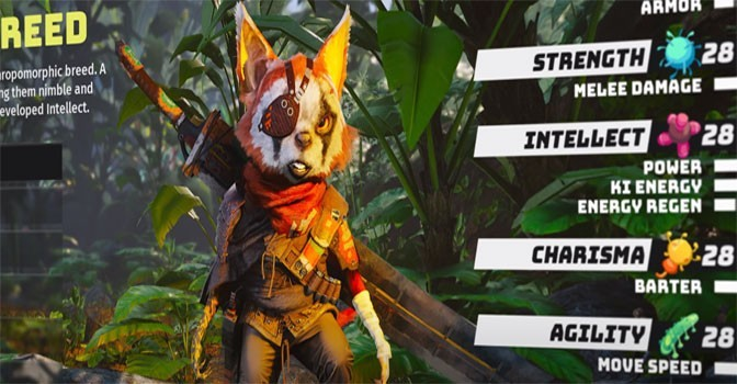 Weird Biomutant Raccoon-Cat Thing Explained By Developers