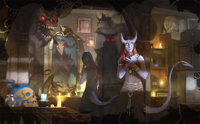 The dark realms of Ravenloft await, where even the land whispers about tempting offers and dark gifts, all available for a very reasonable price that does not seem too high...at first.