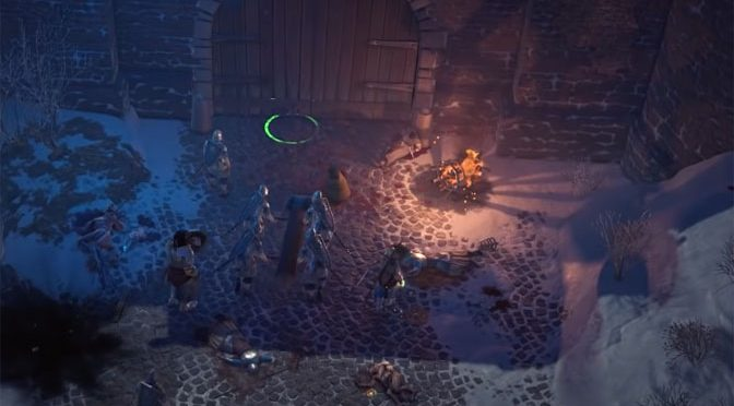 Wrath of the Righteous Developers Show Off Huge Fantasy Fortress