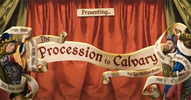 The Procession To Calvary Pythonesque Point and Click Coming To Consoles