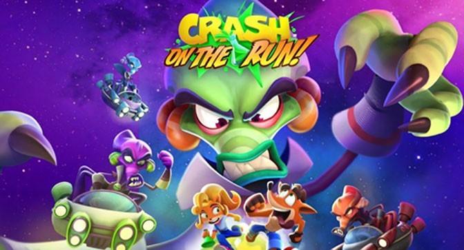 Season 4: Survival of the Fastest Comes To Crash Bandicoot Mobile Game