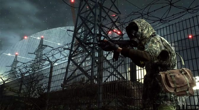 Radioactive Exploration and Action in Chernobylite