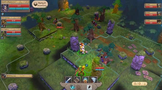 Fort Triumph Fantasy Tactics Game Deploys to Consoles