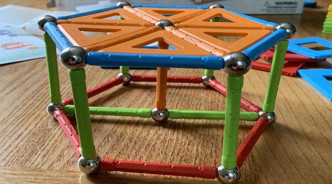 Super Magnets STEM Toy Equals Super Fun