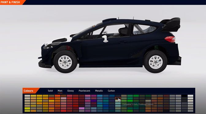 WRC 10 Racing Game Now Offers Full Car Customization