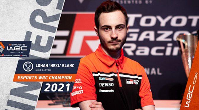 Nexl wins the 2021 Toyota Gazoo eSports Racing Championship