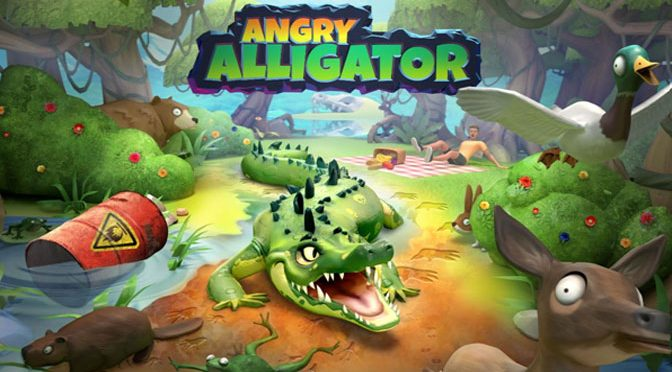 Angry Alligator Game Launches for Nintendo Switch