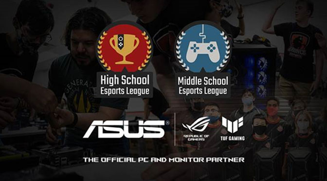 ASUS Renews Support for Middle and High School Esports Leagues