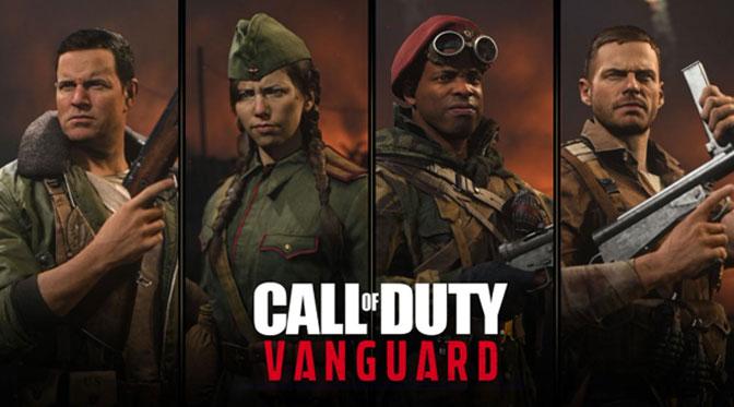 Call of Duty Vanguard Actors Announced