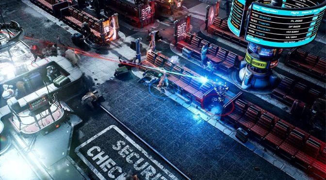 Shooting up The Ascent's Beautiful Cyberpunk World